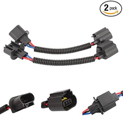 Amazon.com: TOMALL H13 9008 LED Headlight Extension Wiring Harness on h13 hid wiring, h13 plug harness, hid kit headlight harness,