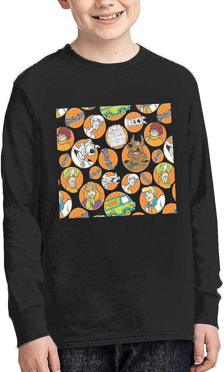 Scooby Doo Crew Neck Sweatshirt Cotton Top T-Shirt for Boys /& Girls