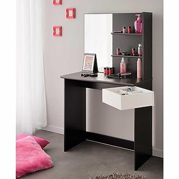 Pharao24 Schlafzimmer Schminktisch mit Spiegel Spiegel: Amazon.de ...