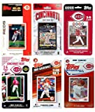 MLB Cincinnati Reds 6-Different Licensed Trading Card Team Set