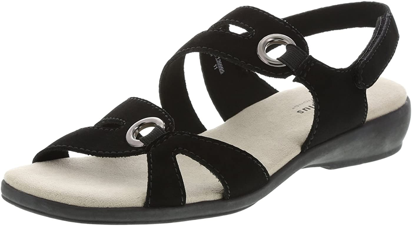 Amazon Com Predictions Comfort Plus Women S Peggy Strappy Sling Platforms Wedges