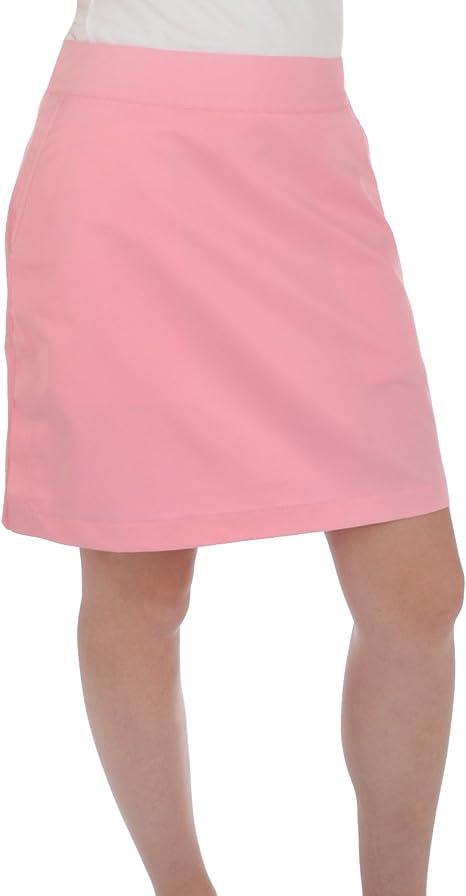 adidas Golf Mujer Climacool Encima de la Rodilla Falda, Rosa, 8 ...