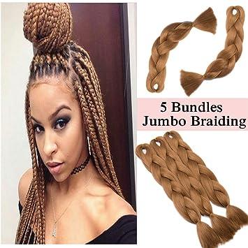 Outstanding Amazon Com Jumbo Braiding Hair Light Auburn 5 Bundles Crochet Schematic Wiring Diagrams Phreekkolirunnerswayorg