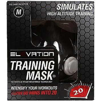 Máscara de elevación máscara formación 2,0 Fitness altitud máscara (70 kg - 120