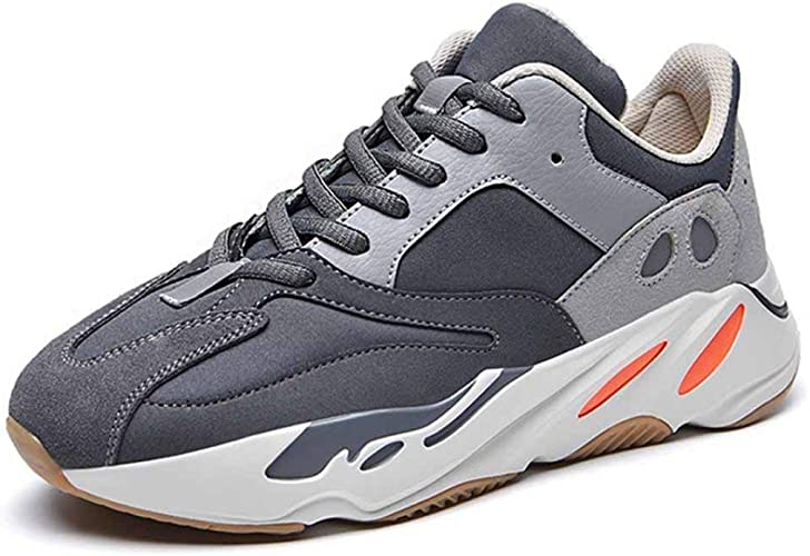 Men Fashion Chunky Sneakers Mixed Color