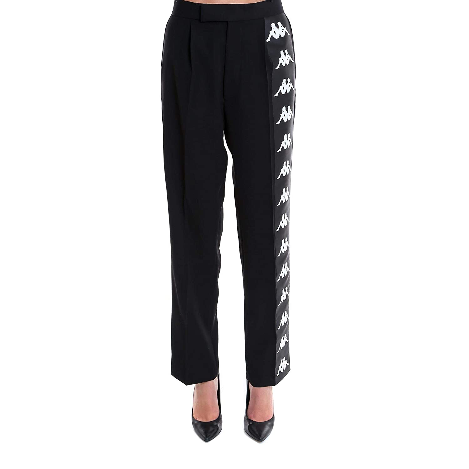 Faith Connexion Women's W1550T00001001 Black Cotton Pants