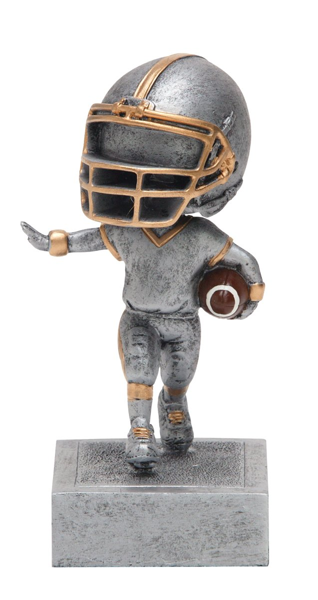 Decade Awards Football Bobble-Head Trophy | Fantasy Football Bobble Head Award | FFL