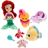 Disney Animators' Collection Ariel Mini Doll Play Set - 5 Inch