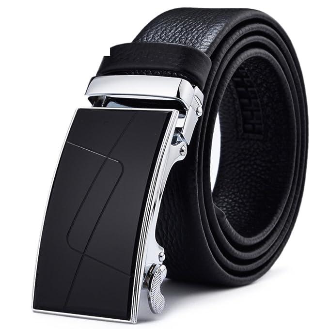 Amazon.com: Hombres de Negocios Cinturón de hebilla ...