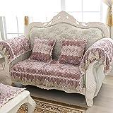 General sofa mat Full-pack cover towel cover Simple anti-skid sofa towel-C 90x210cm(35x83inch)