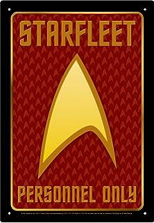 Aquarius Star Trek Personnel Tin Sign