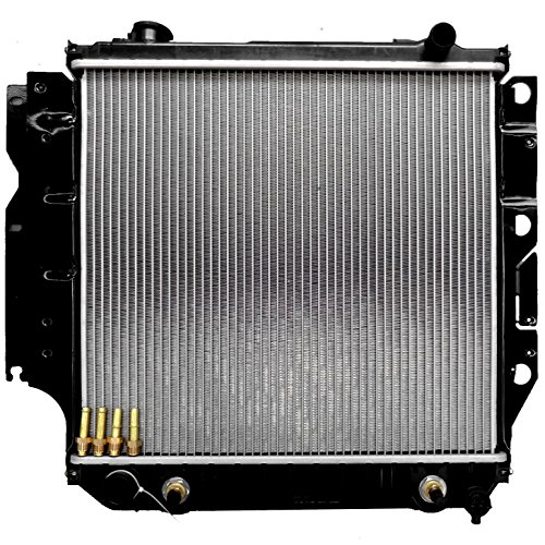 ECCPP 1682 Radiator fits for 1987-2006 Jeep Wrangler 65th Anniversary Edition/Rubicon/Unlimited/X/SE Sport Utility 2-Door 2.0L 4.0L by ECCPP