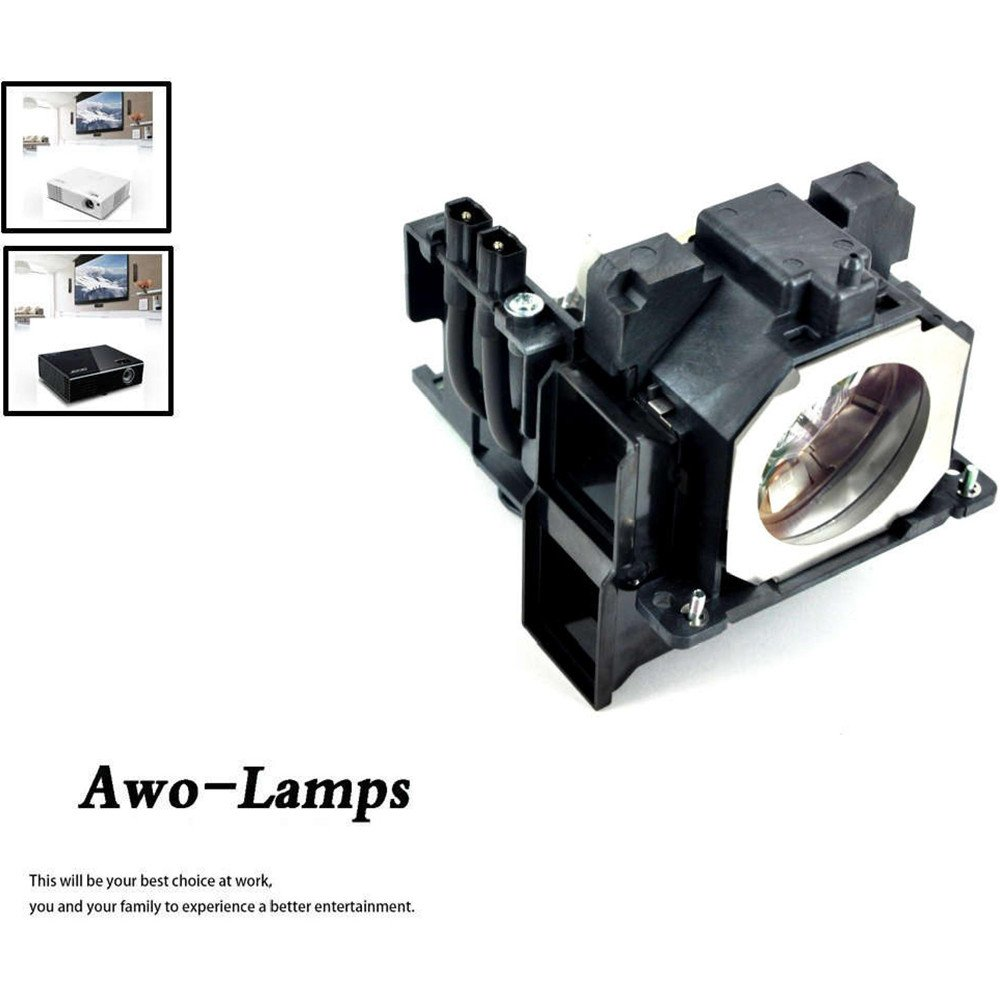 AWO ET-LAE300 Premium Quality Replacement Lamp with Housing For PANASONIC PT-EW540 EW640 EW730Z EW730ZL EX510 EX610 EX800Z EX800ZL EZ580 EZ770Z EZ770ZL