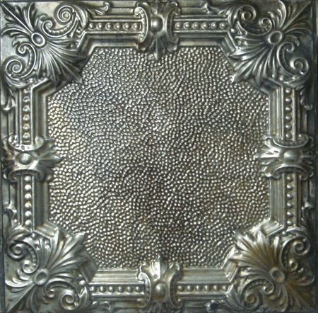 5 pcs of Tin Ceiling Tiles #136, Unfinished Nail-up