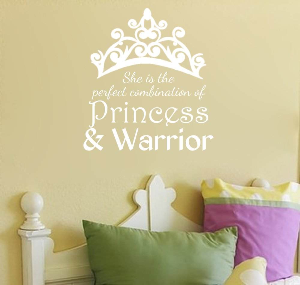 Amazon.com: She Is the Perfect Combination of Princess and Warrior ...