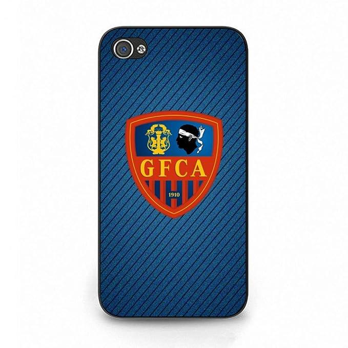 Athletic Club Ajaccio funda, funda fútbol Culb, iPhone 4 ...