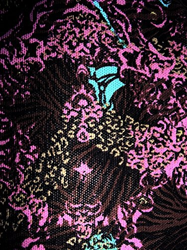 Solar - Traje de una pieza - Floral - para mujer lila/braun/türkis gemustert