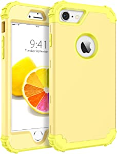 BENTOBEN iPhone 8 Case, iPhone 7 Case, Heavy Duty Shockproof 3 in 1 Slim Hybrid Hard PC Soft Silicone Rubber Bumper Rugged Protective Phone Case Cover for iPhone 8 /iPhone 7 (4.7