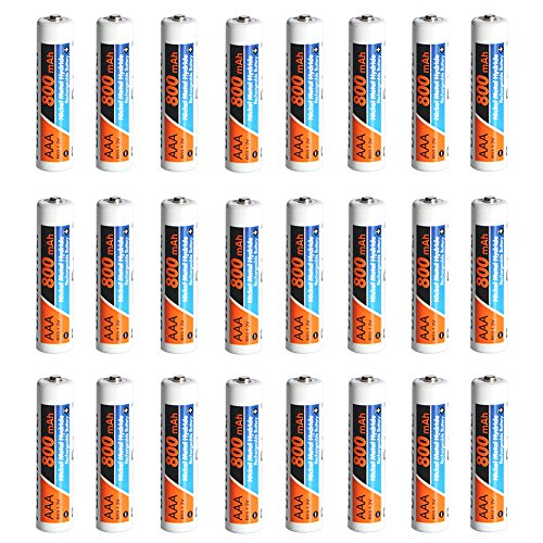 PowerDriver 24 Pack AAA Ni-MH NiMH Rechargeable Batteries fo