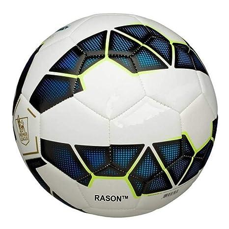 RASON Blue  3 Ply PVC; Size  5  Strike Premier League Replica Football