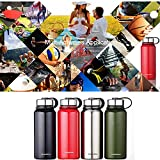 Stainless Steel Water Bottle with Filter,Genjia