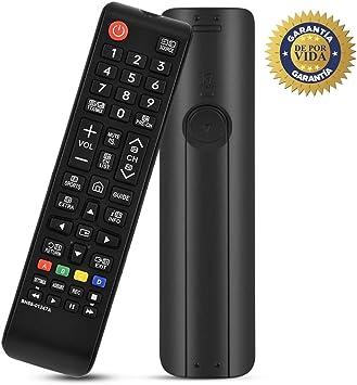 MYHGRC Nuevo reemplazo Mando a Distancia Pare Samsung BN59-01247A Ajuste para Samsung TV- No se Requiere configuración TV Control Remoto Universal: Amazon.es: Electrónica