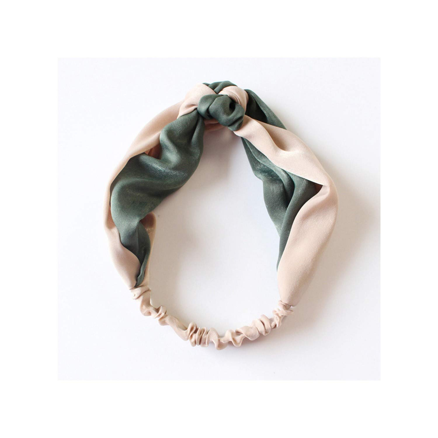 Cotton Women Headband Turban Solid Color Girls Knot Hairband Hair Accessories Makeup Elastic Headwrap,style 7 07