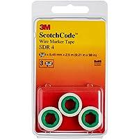 3M Scotch Código SDR Cable de 4marcadores rollos