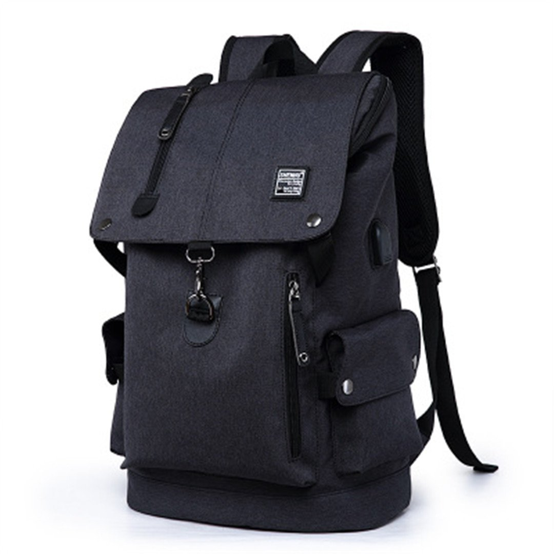Amazon.com   Multifunctional Best Travel Backpack Men And Women Students  Daily Backpack Shoulder Bag Dark gray Backpack   Casual Daypacks 98aa0746b9