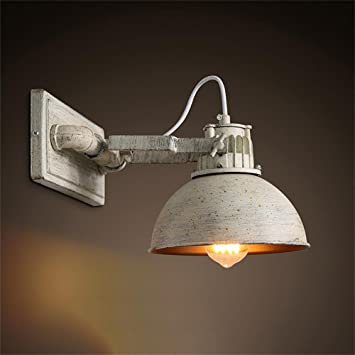 XCJjJ Indoor Wall Lamp, American Country Retro Industrial Bar ...
