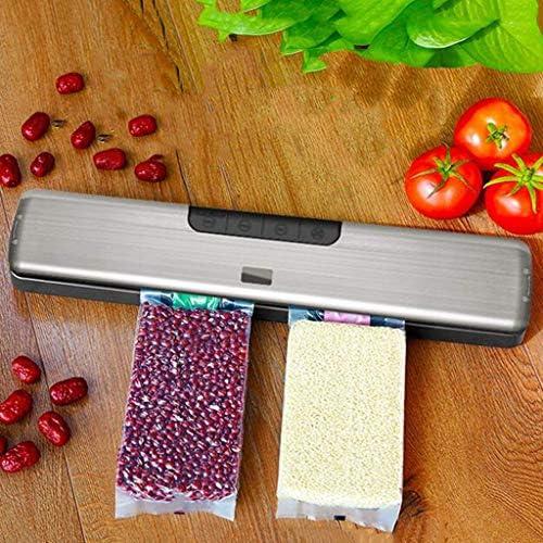 LFEWOZ Petite Maison Vide Scellant Machine, Compact Automatique Scellant, avec Dry & Moist Alimentaires Sealer Modes, pour l'alimentation Stockage et Conservation des Aliments