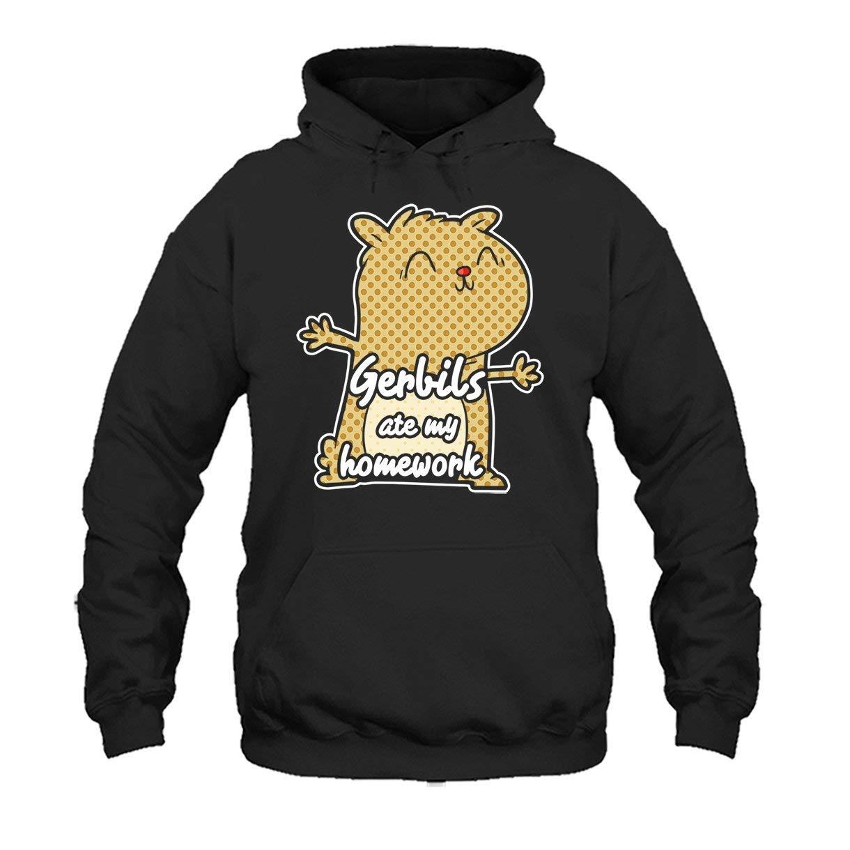 Two Camel Gerbils Ate My Homework Tee Shirt Hoodie Sweatshirt