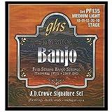 GHS Strings J.D. Crowe Signature Banjo Set (Stage Stainless Steel)