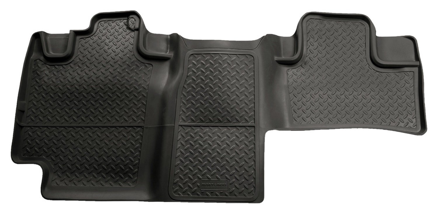 Husky Liners Custom Fit Second Seat Floor Liner for Select Ford F-150 Models (Black) Winfield Consumer Products 63671