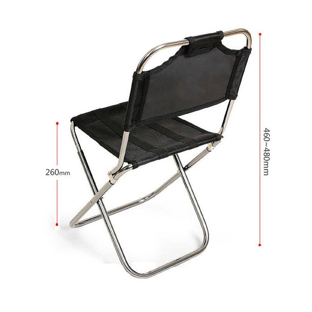 LJXiioo Tabouret Pliant Chaise de Barbecue de pêche siège Compact