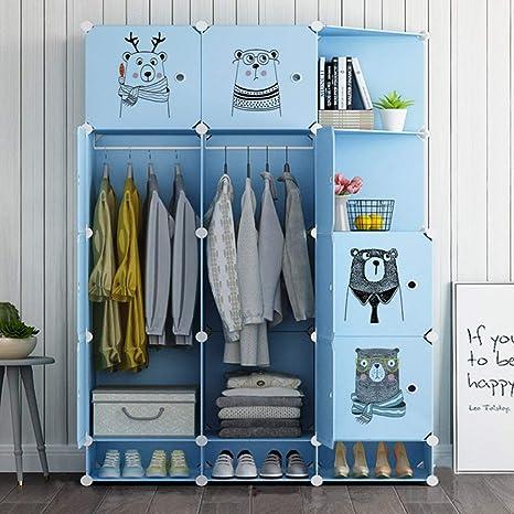PTDJY Moderno Simple Combinación Armario Dormitorio Doble ...