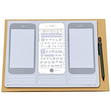 Amazoncom Loghot Creative Draft Drawing Iphone 6 Sketch