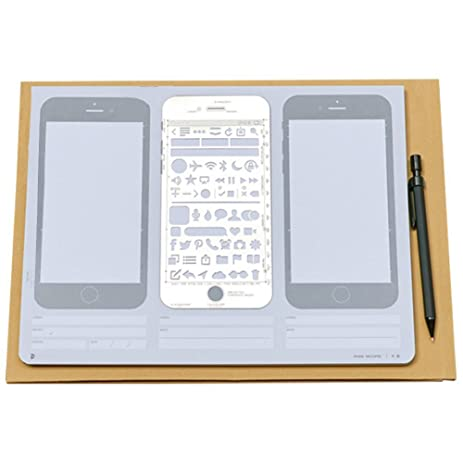 Amazon Com Loghot Creative Draft Drawing Iphone 6 Sketch Pad For