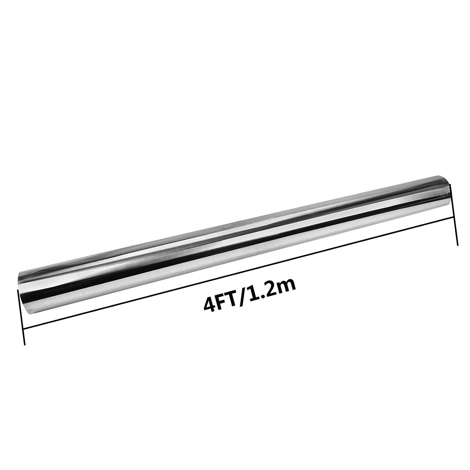T-304 S//S Nonmagnetic Stainless Steel Exhaust Piping Tubing 4 Feet long OD:3.5//89mm