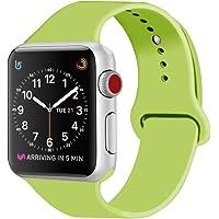 ZRO Cinturino for Apple Watch, Morbido Silicone Braccialetto Sportiva di Ricambio per iWatch Serie 2/Serie 1