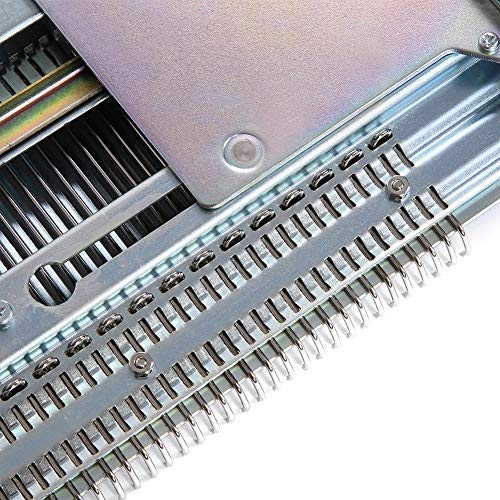 Akozon Knitting Machine, Sweater Knitting Machine Artisan 245 Standard Gauge Plastic Domestic Knitting Machine for Silver Reed SK280 SK360 SK840 Includes Yarn Needles Accessories for Adults/Kids by Akozon (Image #3)