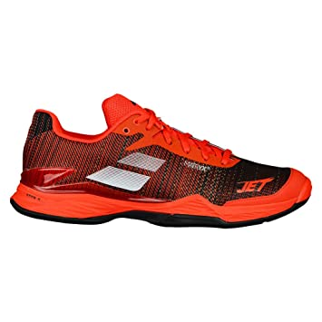 half off cff94 a68fc Babolat Men Jet Mach Ii Clay Men Tennis shoes Clay court shoe Orange - Black  7