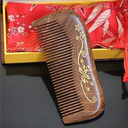 MAGAI Peine del Pelo del sándalo - Diverso Cepillo de Pelo antiestático del Peine del Cepillo