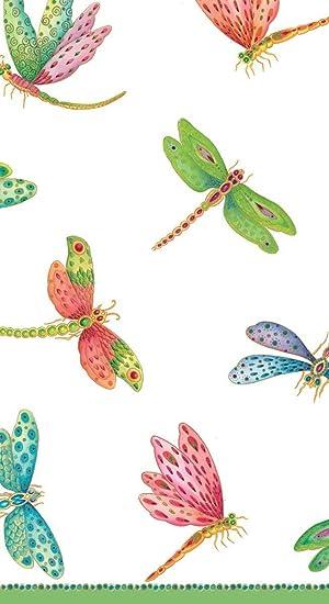 Toalla de playa Diseño moderno de libélulas 30 x 60 cm se puede lavar a máquina, ...