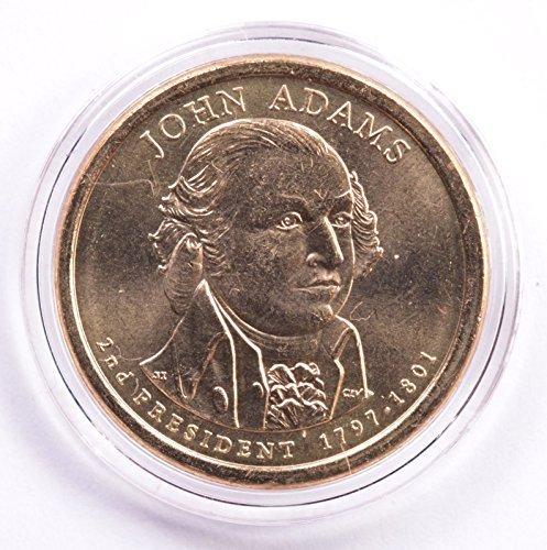 Major MINT ERROR -- 2007-P Adams Presidential Dollar -- DOUBLE EDGE LETTERING OVERLAPPED -- Position A  … (Presidential Error Coins)