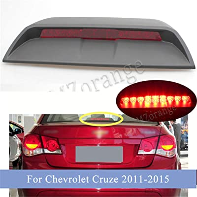 Clidr Third High Mount Brake Light 3rd Lamp for Chevrolet Cruze Sedan 2011 2012 2013 2014 2015: Automotive