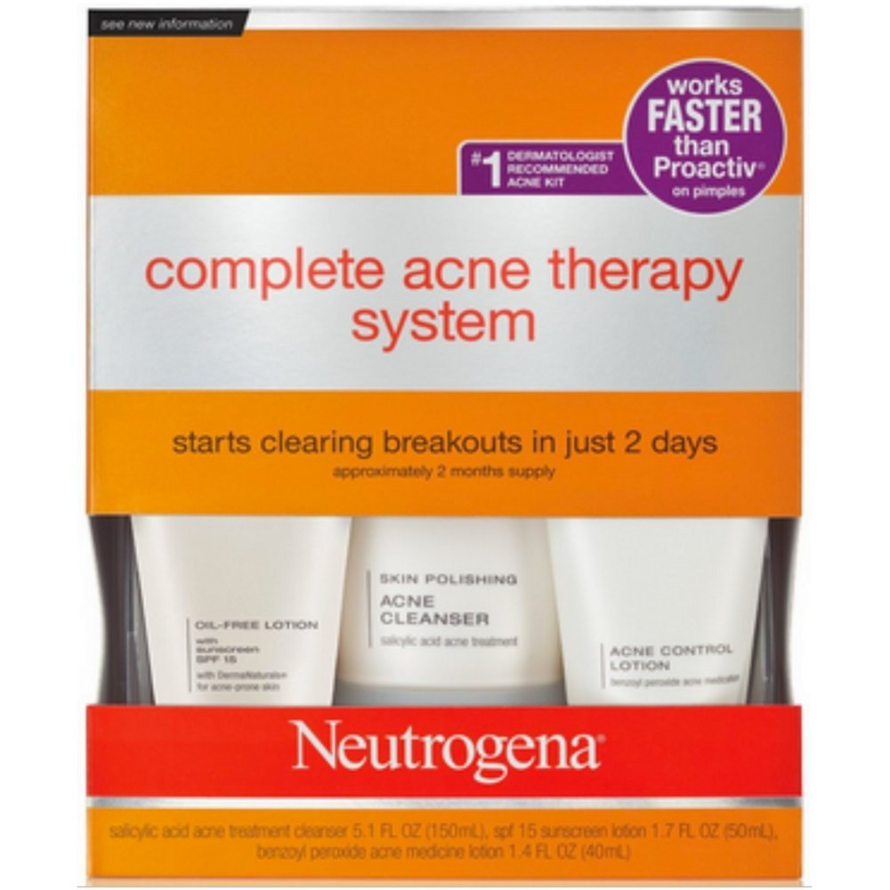 Amazon Com Neutrogena Advanced Solutions Complete Acne Therapy
