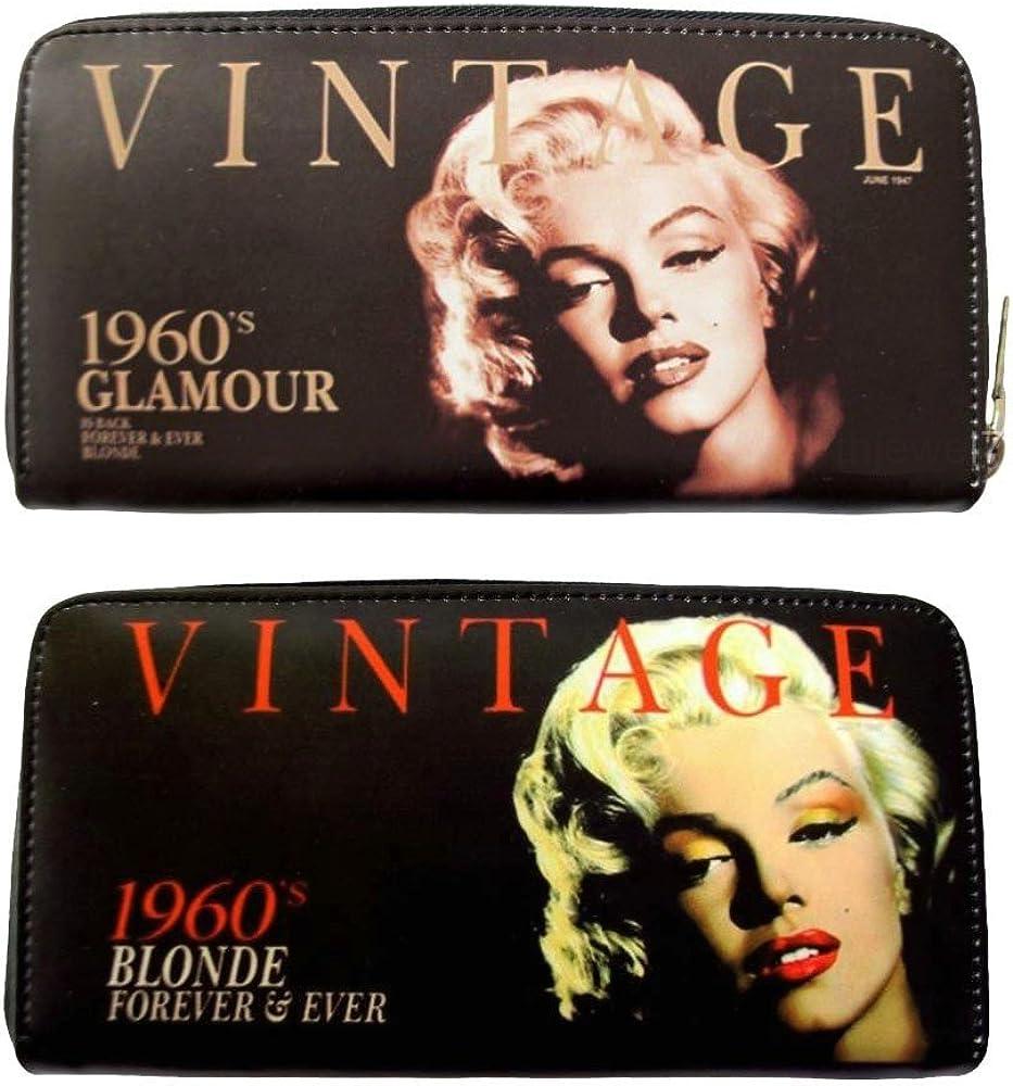 Marilyn Monroe Vintage Blonde 1960s Money ID Holder Travel Wallet
