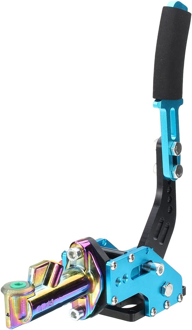 Purple GOZAR Universal Vertical Racing Escort Rally E-Brake Drift Hydraulic Handbrake Hydro