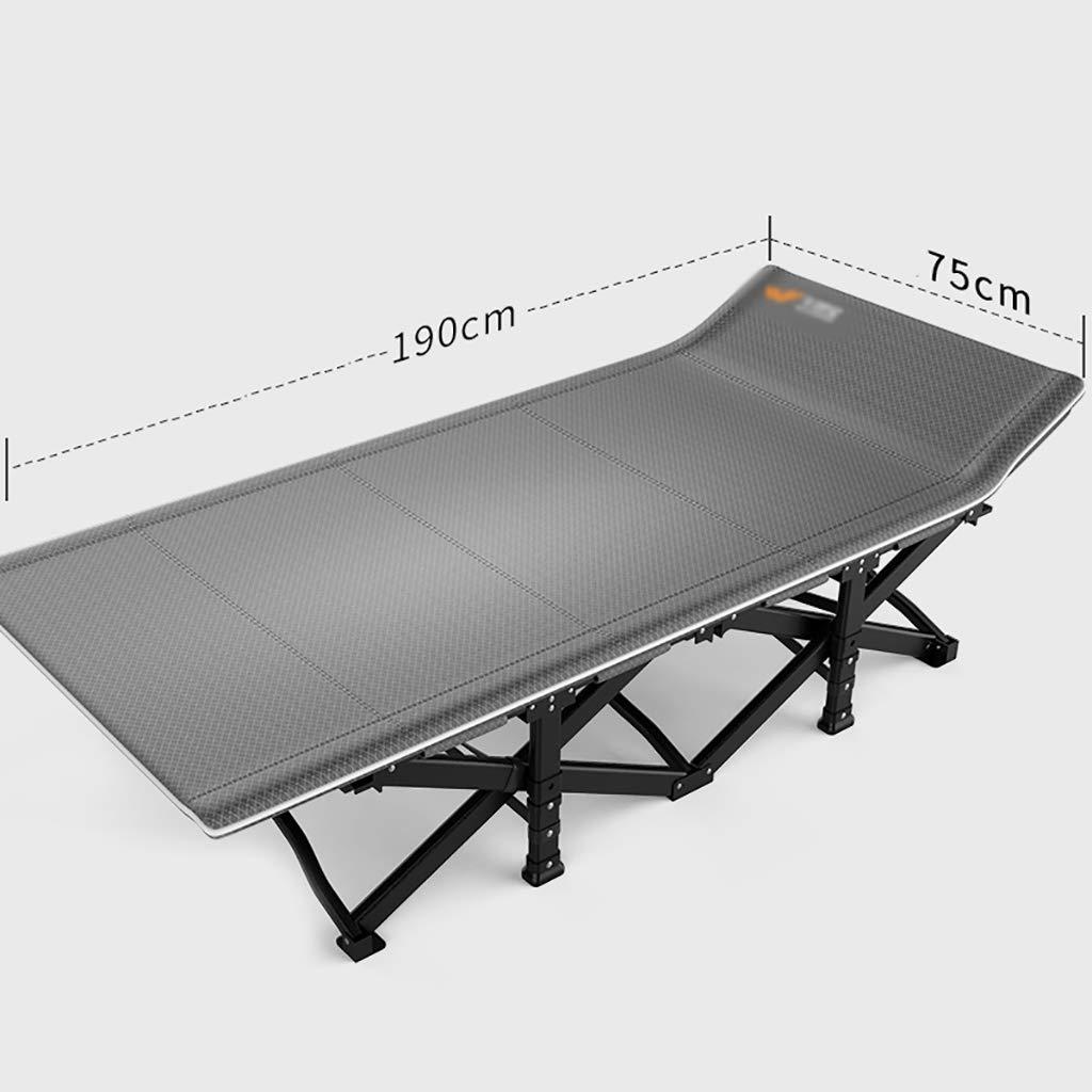 レジャーシート カジュアルな折りたたみ式の通気性のランチブレークラウンジチェアシングルシンプルなオフィスの昼寝ベッドの折り畳み式ベッドのサイズ:75 * 190cm ラウンジチェア (色 : A) B07Q86K8K6 A